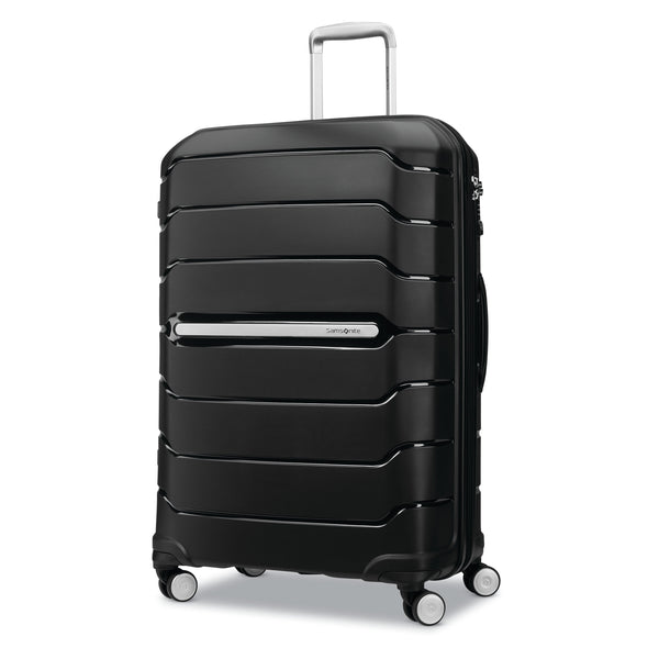 "SAMSONITE  LARGE CHECKED 28"" BLACK FREEFORM COLLECTION"