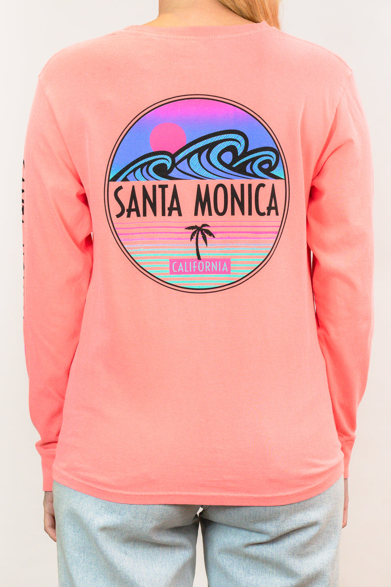This or That wave Santa Monica, Ca Long sleeve shirt