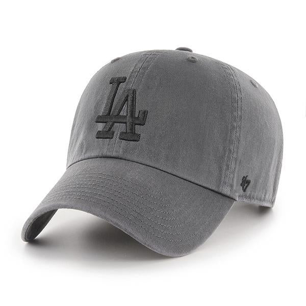'47 Los Angeles Dodgers Charcoal Clean Up Hat