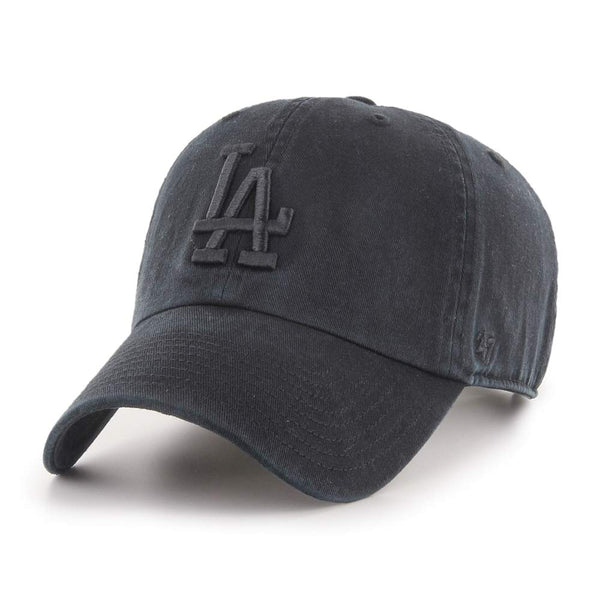 '47 Los Angeles Dodgers Clean Up Hat (Black Logo)