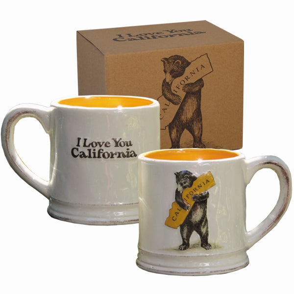 California Bear Hug Ceramic Mug