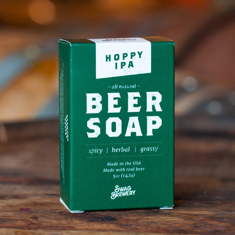 SWAG BREWERY BEER SOAP (HOPPY IPA)