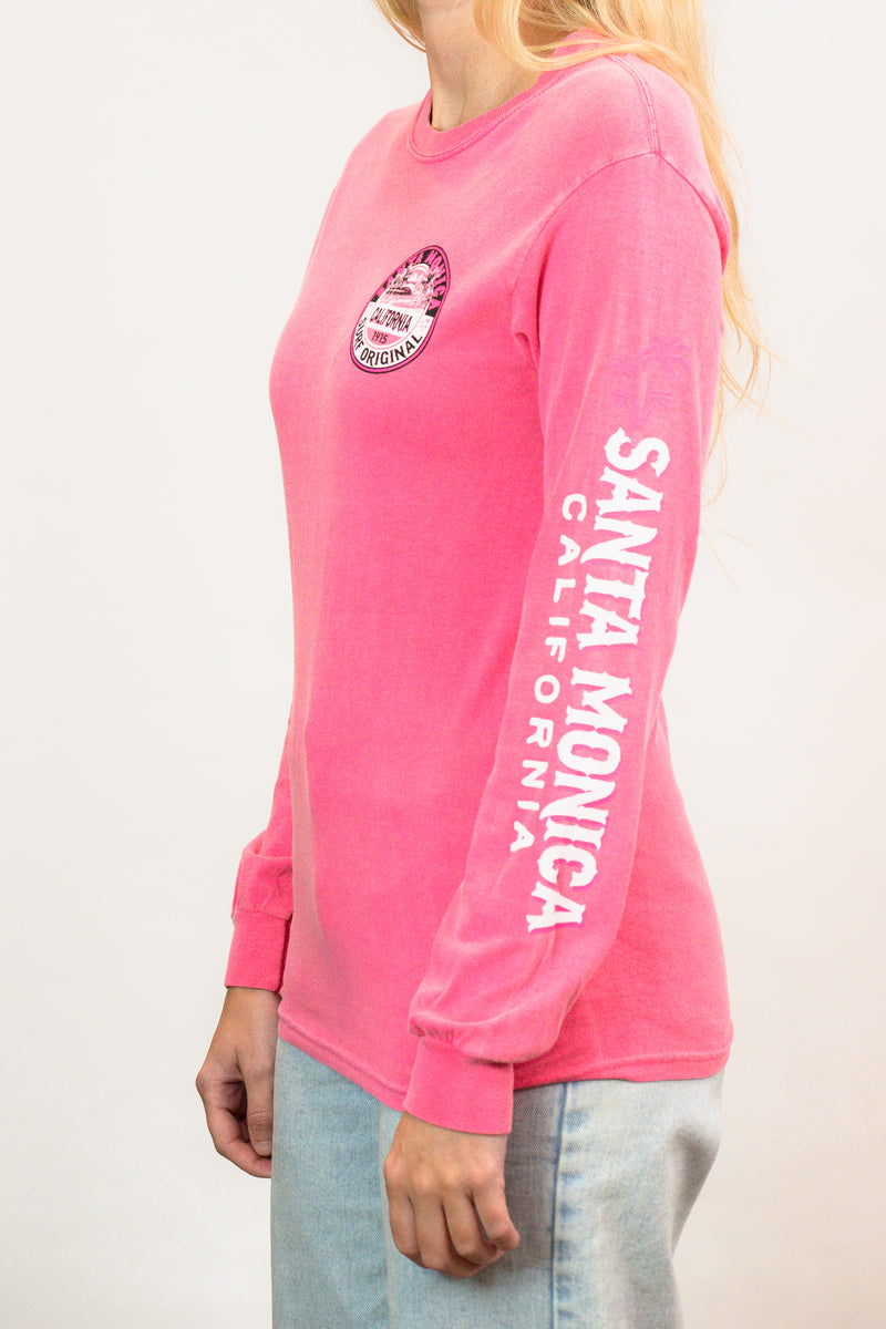 Everybody Talk Beach/ Palm Santa Monica, CA - Long Sleeve