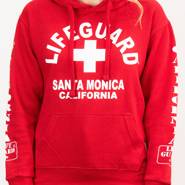 Lifeguard Hoodie- Santa Monica, California Official Product