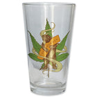 Cannabis CA Bear Hug Pint Glass