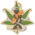 Cannabis CA Bear Hug Vinyl Sticker