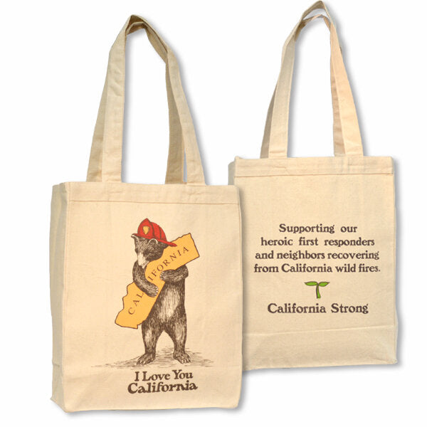 Firefighter Bear Tote