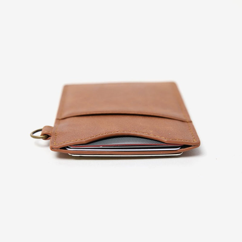"Thread Wallets ""Ronnie"" Vertical Leather Card Holder"