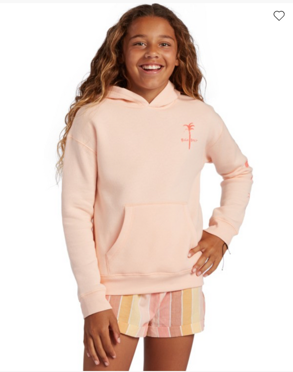 Billabong Girls' Born Sunny Pullover Sweatshirt