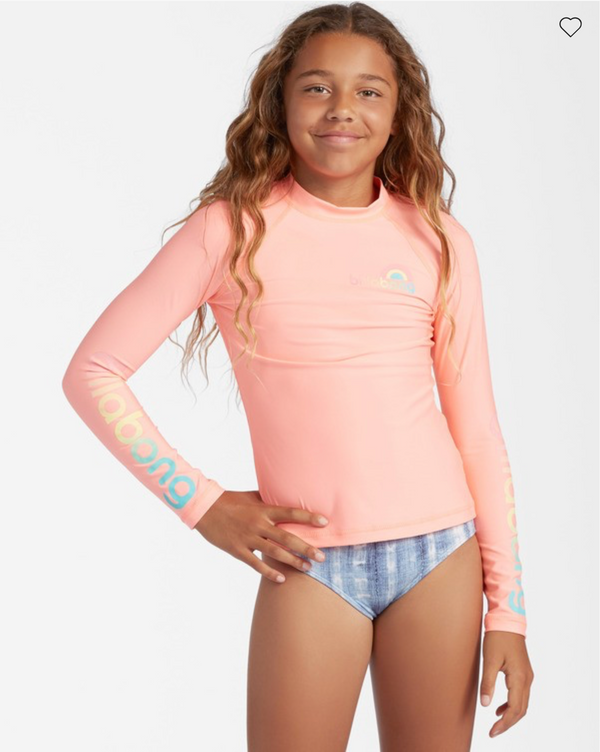 Billabong Girls' Core Surfdaze Rashguard