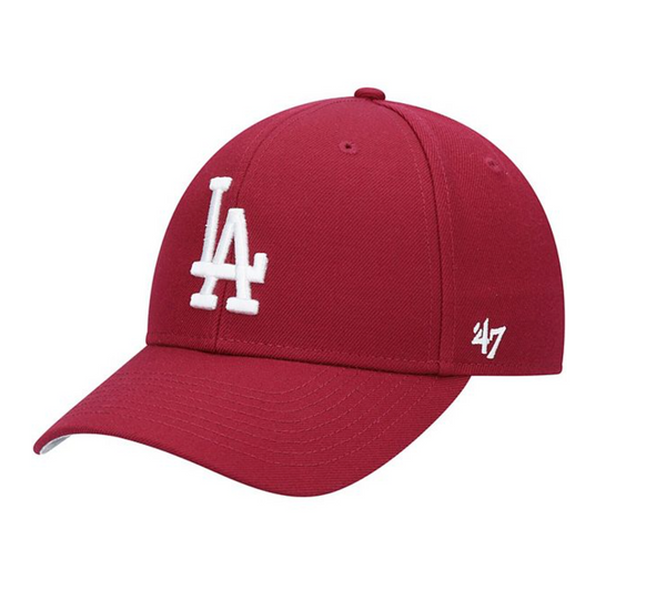 '47 Cardinal Los Angeles Dodgers Fashion Color MVP Adjustable Hat
