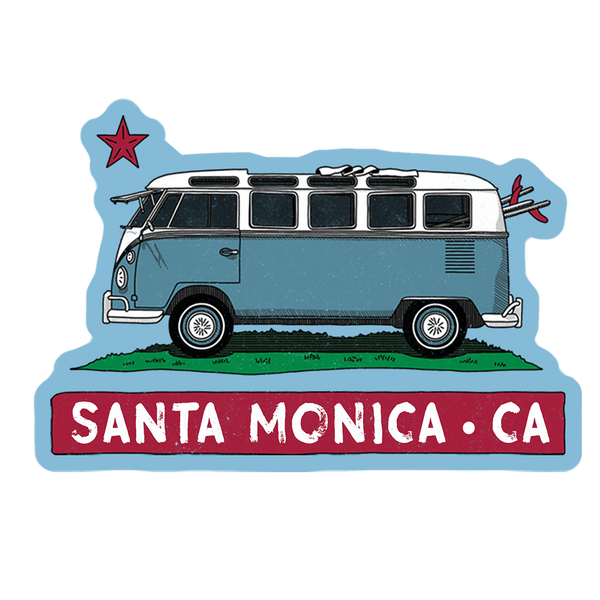 VW Cali Van Sticker