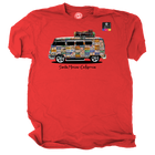VW License plate Bus Official Licensed product Santa Monica, California T-Shirt