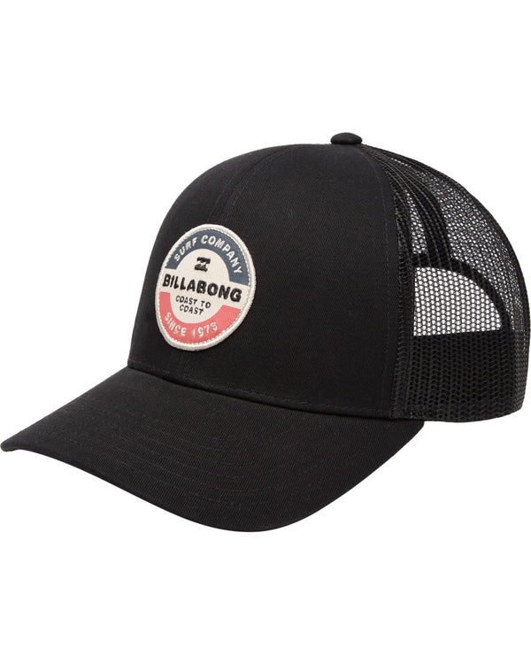 Billabong Walled Trucker Hat Black