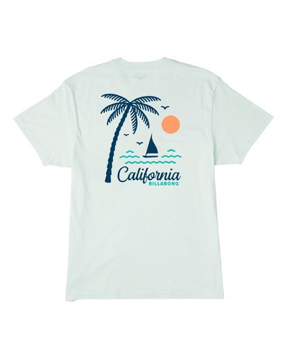 Billabong Daysailor California Short Sleeve T-Shirt Seaglass