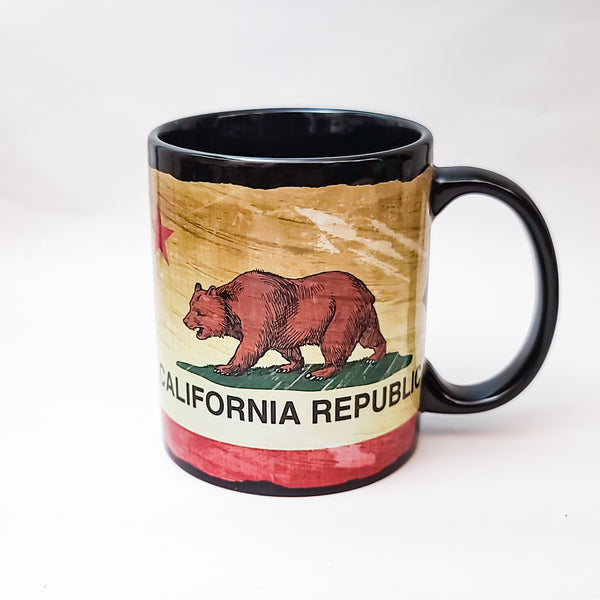 California Republic Bear Ceramic Mug