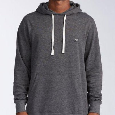 "Billabong ""All Day"" Pullover Hoodie Black"