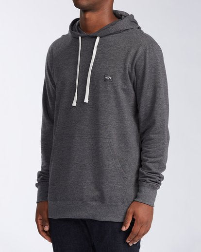 Billabong All Day Pullover Hoodie Black