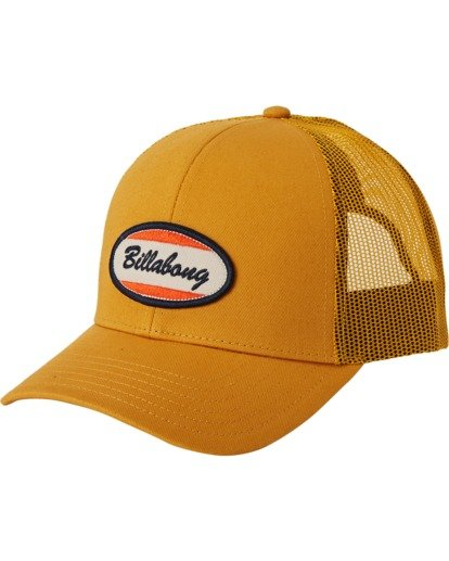 Billabong Walled Trucker Hat Gold