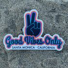 Santa Monica California Vinyl Good Vibes Only Sticker