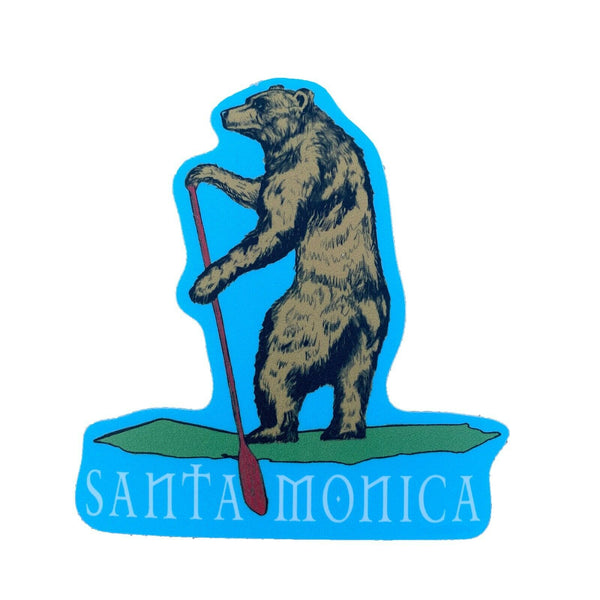 Santa Monica California Sticker by Sand 'n Surf