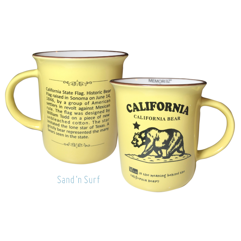 Memoriez California Bear Mug Gift Boxed
