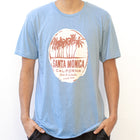 Born to Wander Santa Monica California Print Men's T-shirt