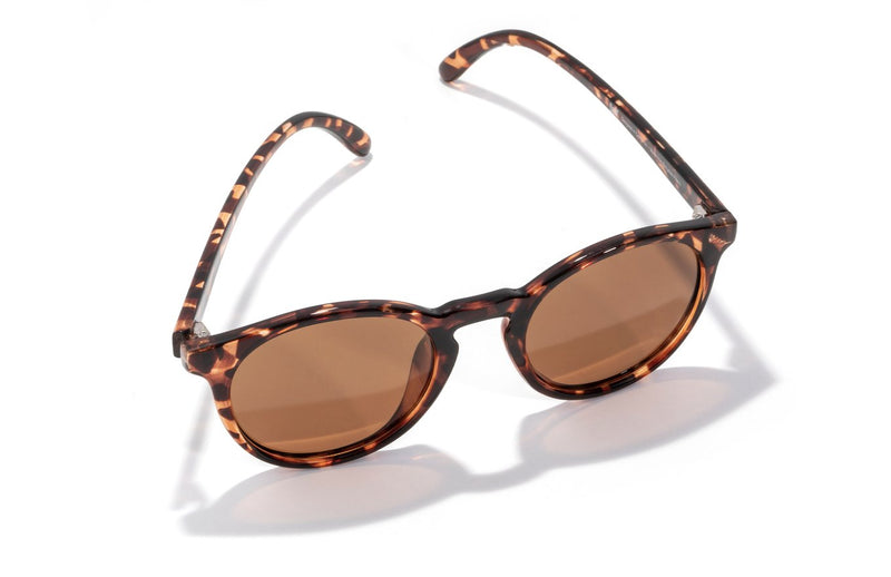 "Sunski ""Dipsea"" Polarized Sunglasses - Tortoise Amber"