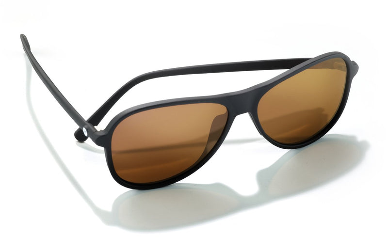 "Sunski ""Foxtrot"" Polarized Sunglasses - Black/Bronze"