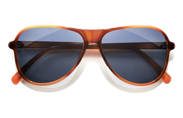 "Sunski ""Foxtrot"" Polarized Sunglasses - Caramel Midnight"