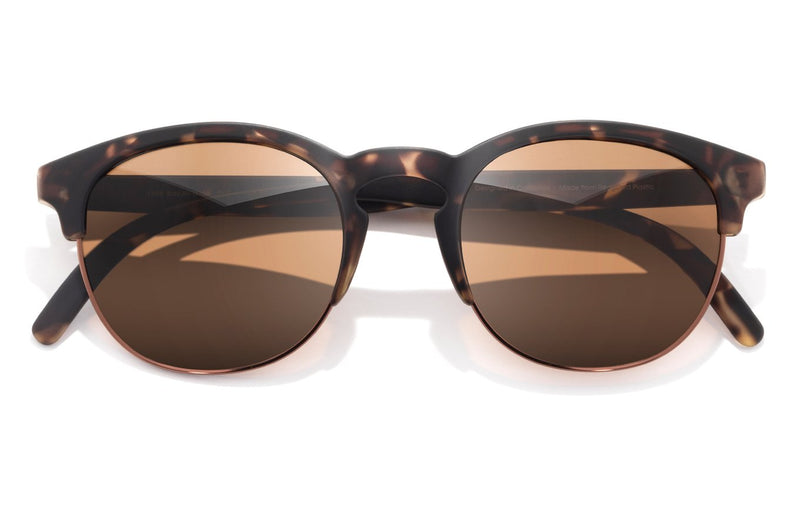 "Sunski ""Avila"" Polarized Sunglasses - Tortoise Amber"