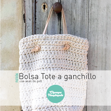 Load image into Gallery viewer, PATTERN - Crochet Tote Bag - English/Castellano - Chompa Handmade