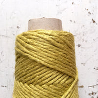 CHARTREUSE - Coloured Rustic Linen