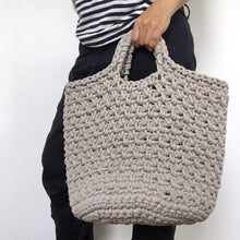 Load image into Gallery viewer, Tote Bag / Shopping bag / Beach bag / Plant Holder - Chompa Handmade