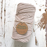 OATMEAL - 2mm TWISTED COTTON ROPE
