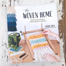 Load image into Gallery viewer, The Woven Home: Easy Frame Loom Projects to Spruce Up your Living Space - Chompa Handmade