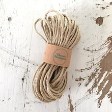 Load image into Gallery viewer, PREORDER - POLISHED NATURAL HEMP STRING - Chompa Handmade
