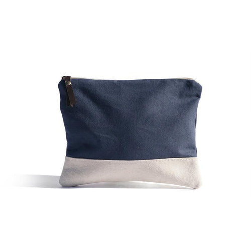 Navy POUCH - Chompa Handmade