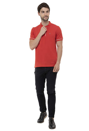 USI Uni Style Image Mens T-Shirt Color: Red
