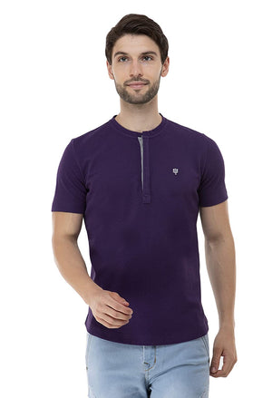 Open image in slideshow, USI Uni Style Image Mens T-Shirt Color: Purple