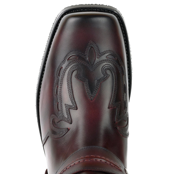 Botas Biker Motard Homem 2471 Indian Bordeaux | Cowboy Boots Portugal