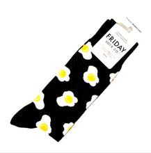 Load image into Gallery viewer, Men Socks - Bacon + Eggs