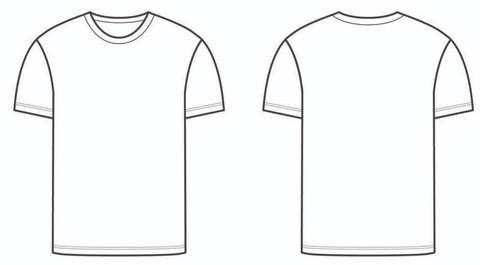 Heavy Premium Soft Tee Size Guide