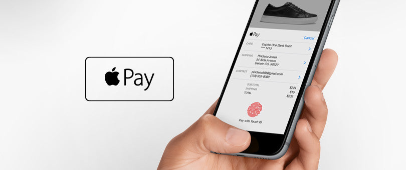We accept  Apple Pay !