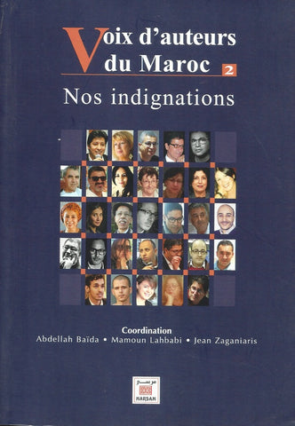 Ketabook:Voix d'auteurs du Maroc 2: nos indignations,Baida, Abdellah & others