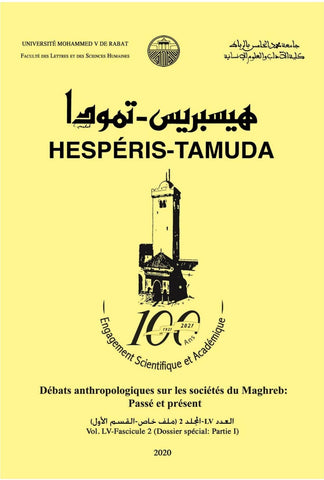 NEW! HESPERIS-TAMUDA 2020 Special Issue