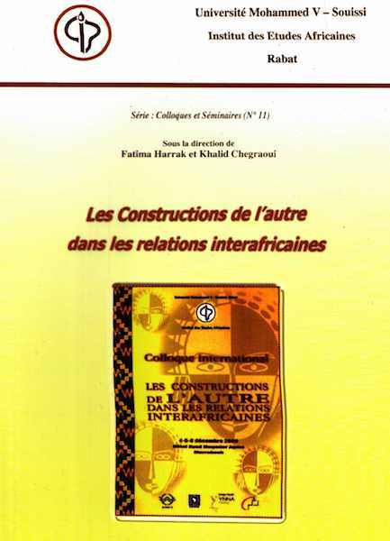Ketabook:Les constructions de l'autre dans les relations interafricaines,* Institute of African Studies