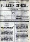 BULLETIN OFFICIEL - Government of Morocco - ketabook maghreb books - PERIODICAL
