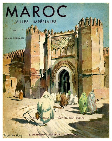 Maroc: villes impériales (reprint) - Hard cover - Terrasse, Henri - ketabook maghreb books - ARCHITECTURE