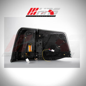 Load image into Gallery viewer, HRS - 2014-20 Toyota Land Cruiser LED Tail Lights - Smoke - V1